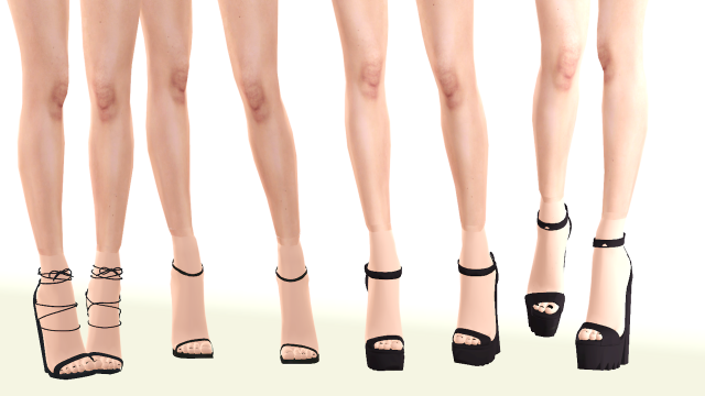Hight heels by hff-sims