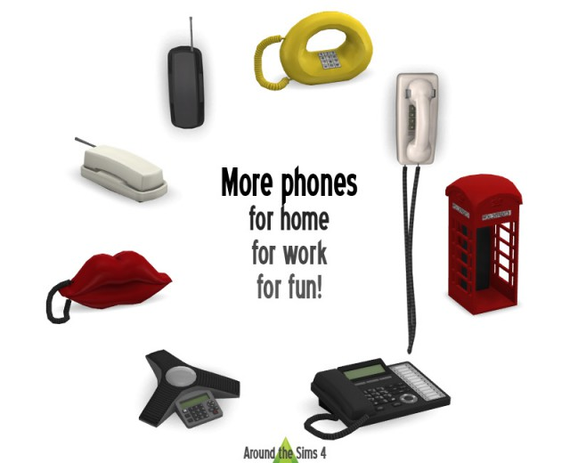 Home Phones #2 by Sandy
