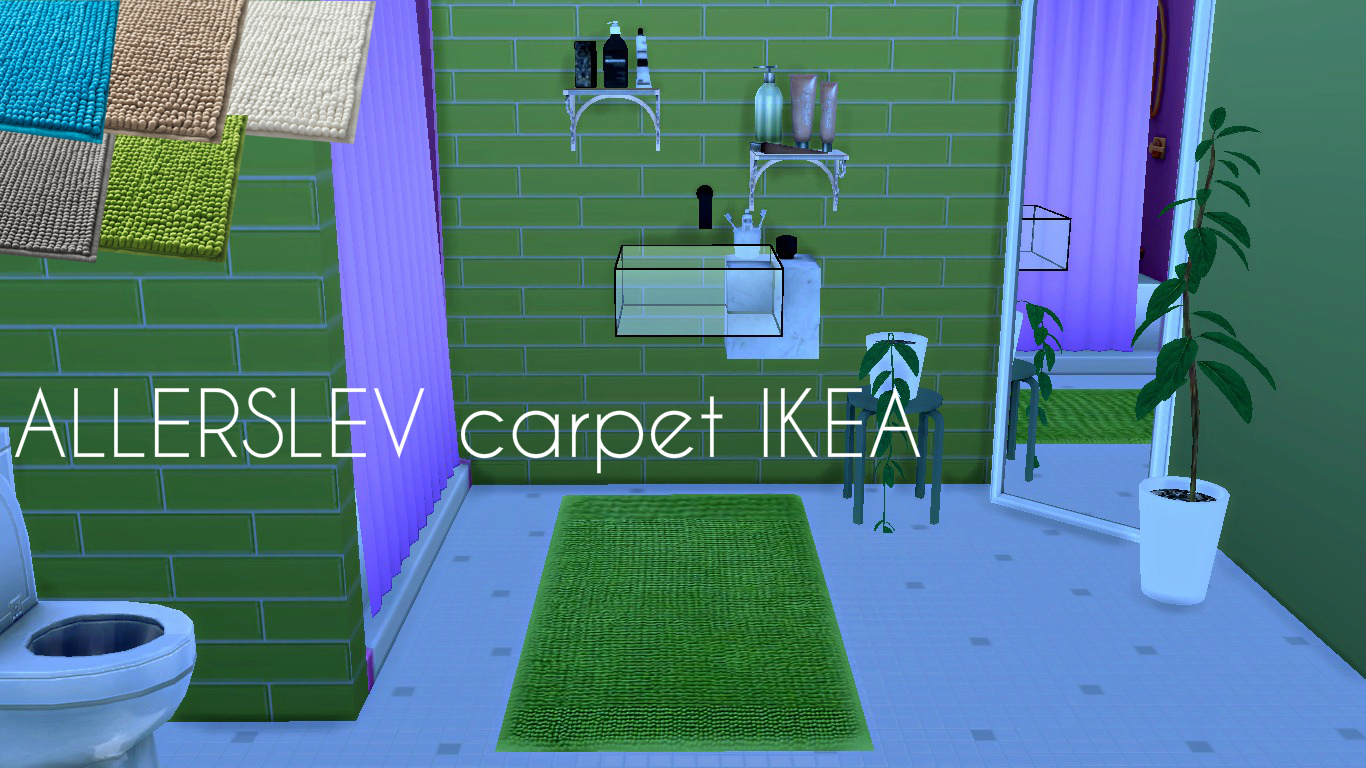 CARPET IKEA ALLERSLEV by Lafleur