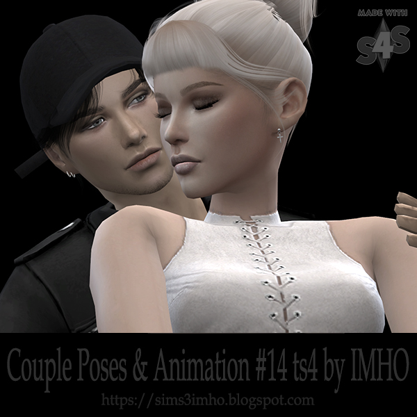 Couple Poses & Animation #14 TS4 by IMHO
