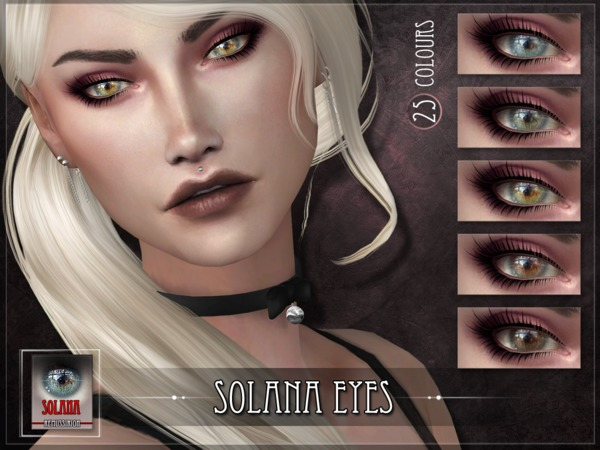 Solana Eyes by RemusSirion