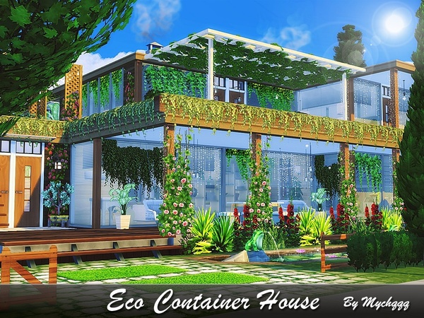 Eco Container House by MychQQQ