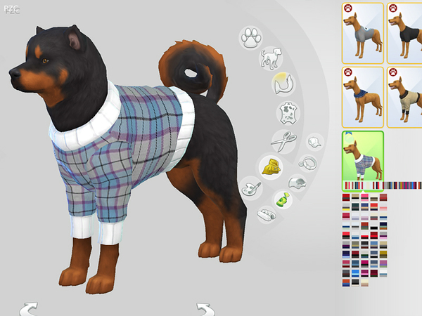 Burberry Large Dog Sweaters Collection by Pinkzombiecupcakes