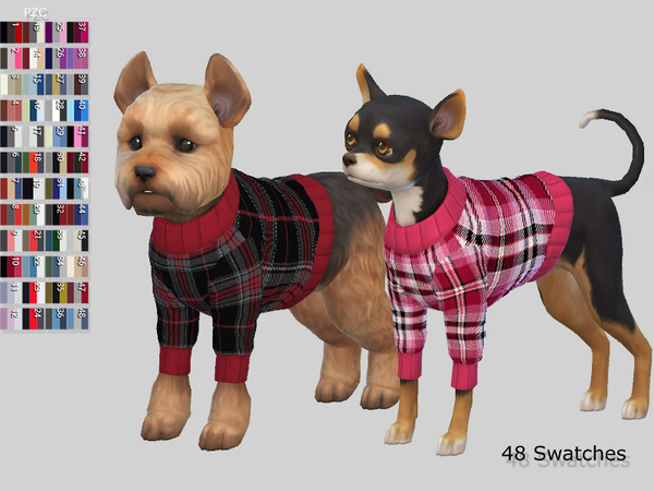 Burberry Small Dog Sweaters Collection by Pinkzombiecupcakes