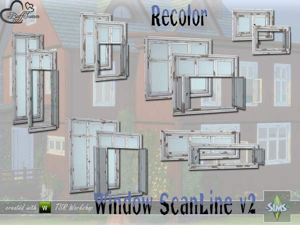 WindowSet ScanLine v2 Recolor by BuffSumm