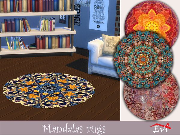 Mandalas rugs by evi