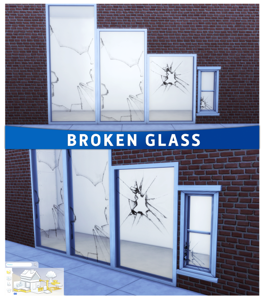 Broken Glass by Summer Annj