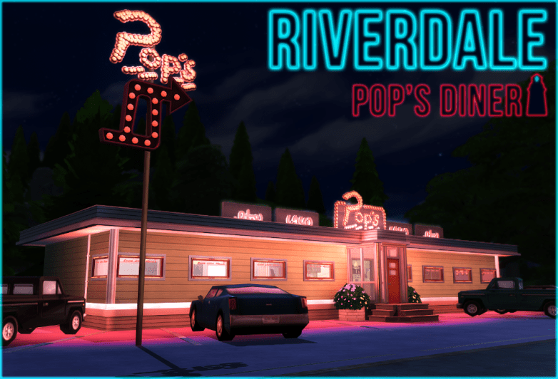Riverdale Pops Diner by Akisima