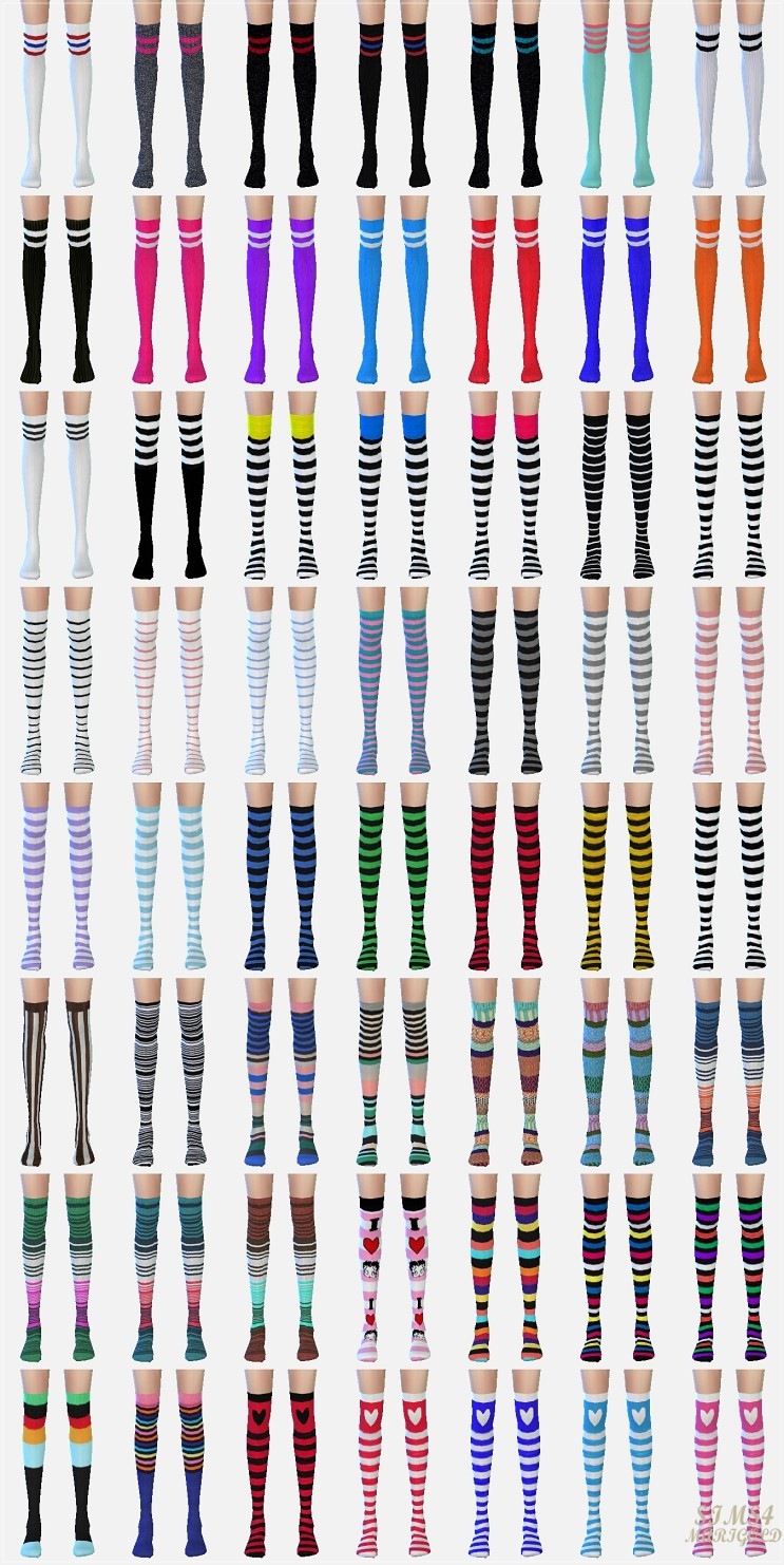 Over knee socks collection by Marigold