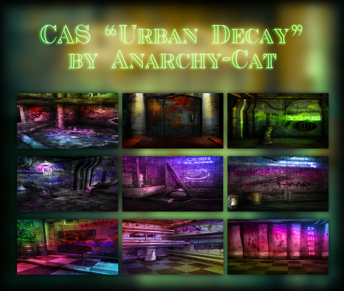 "CAS ""Urban Decay"" by Anarchy-Cat"