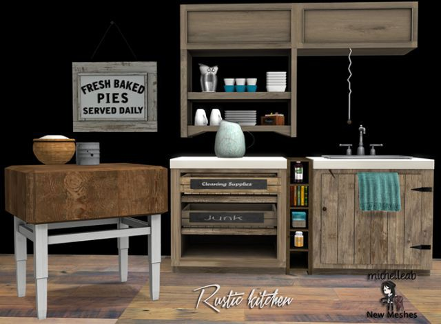 Rustic Kitchen by michelleab