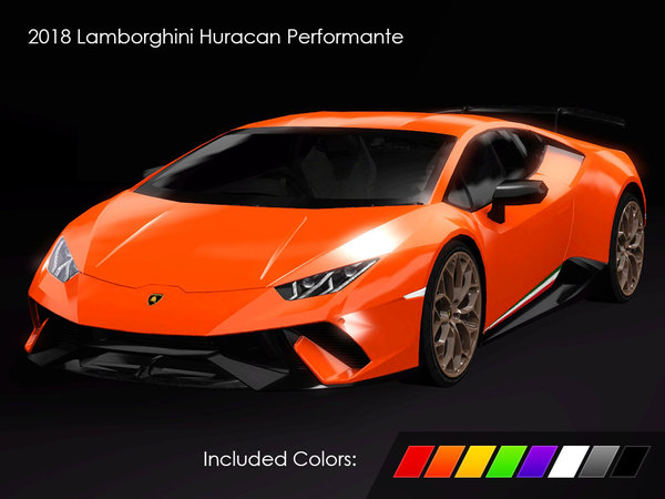 2018 Lamborghini Huracan Performante by Fresh-Prince