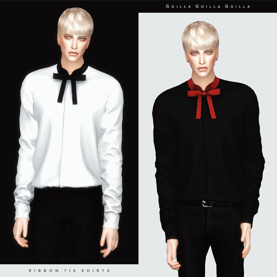 Ribbon Tie Shirts by gorillax3
