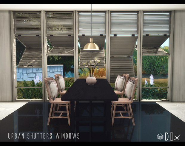 Urban Shutters Windows by Dox
