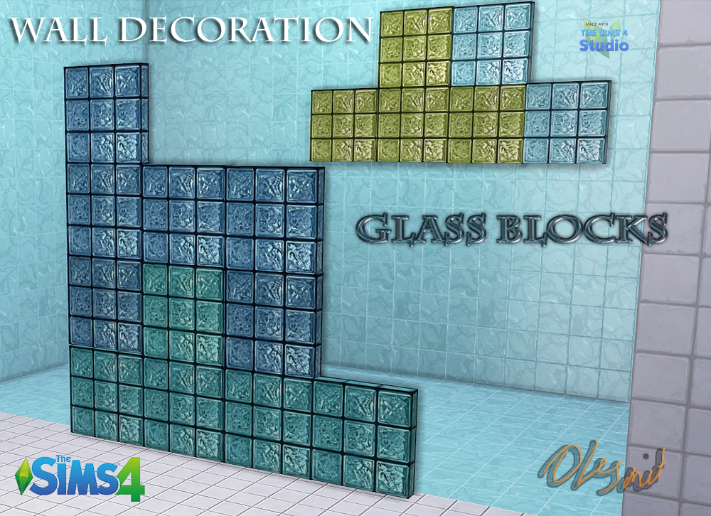 Glass Blocks by OleSims