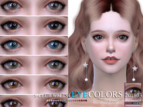 S-Club WM ts4 Eyecolors 201803