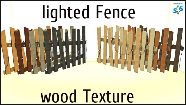 Lighted fence recolors by TaTschu