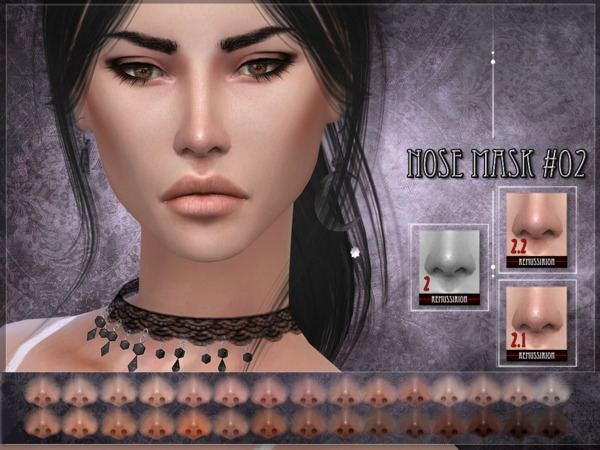 Nose mask 02 SET by RemusSirion