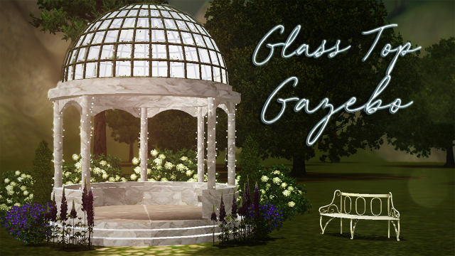 Glass Top Gazebo by freckledfemlock