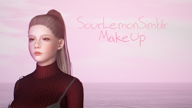 MakeUp by sourlemonsimblr