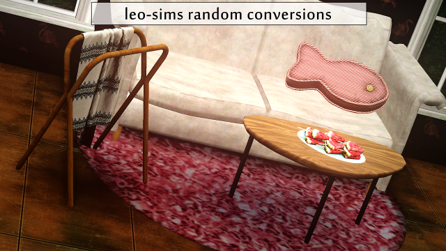 Leo-Sims conversions by Rollo-Rolls