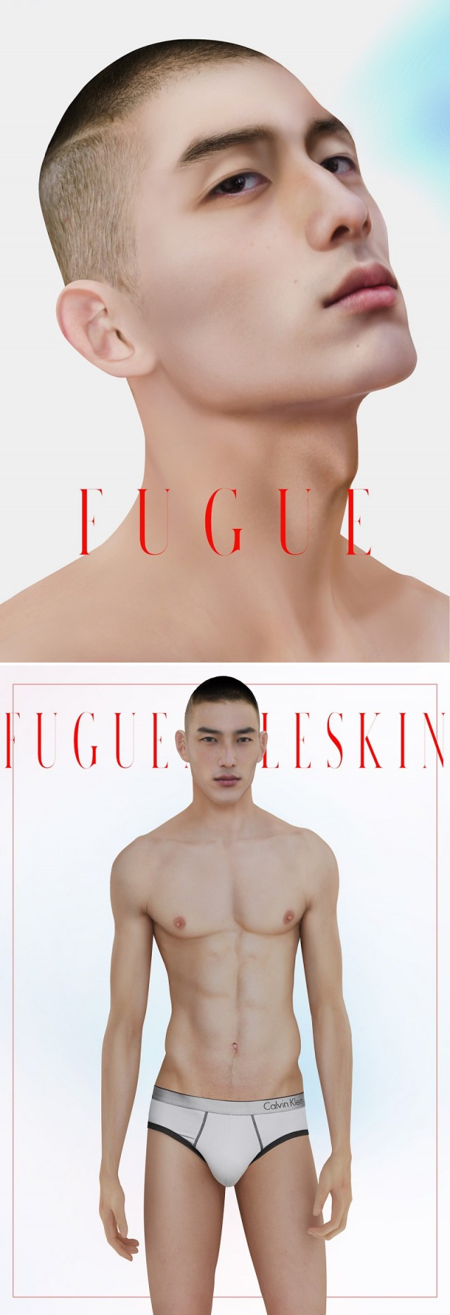 FUGUE MALE SKIN by 1000-formsoffear
