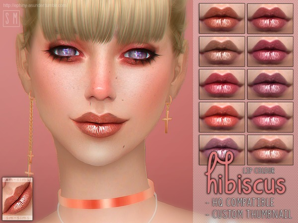 [ Hibiscus ] - Lip Colour by Screaming Mustard