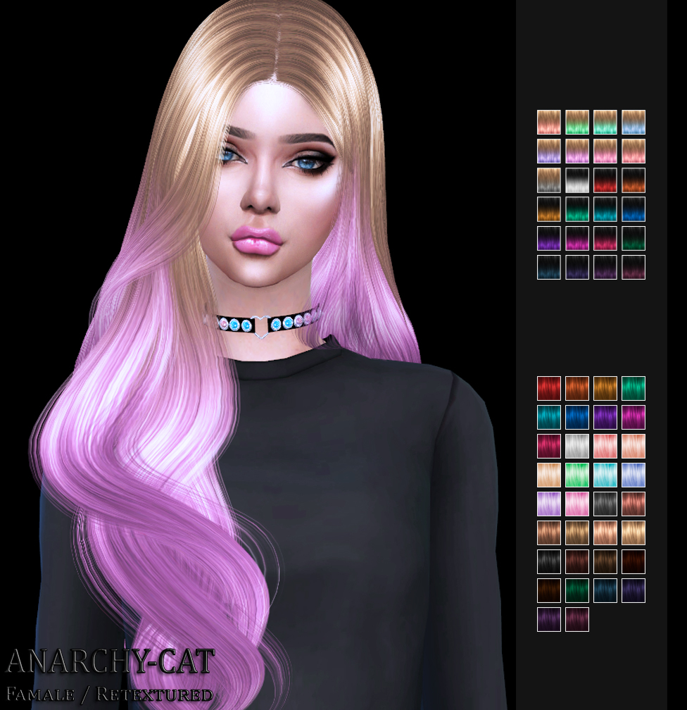 WINGS HAIR OE0208 by Anarchy-Cat