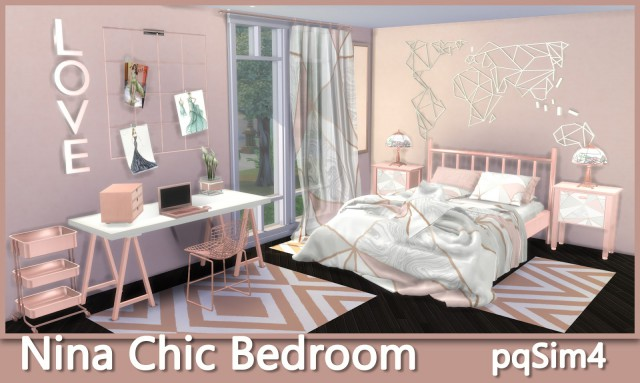 Nina Chic Bedroom by PqSim4