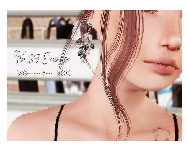 S-Club No. 39 Earring Conversion by halosims