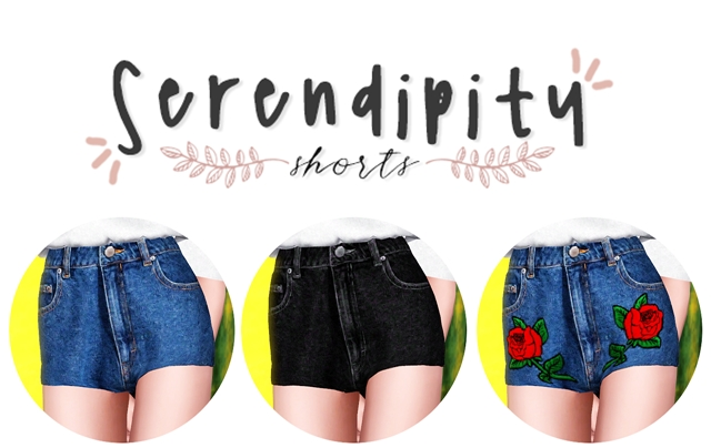 Serendipity Shorts by Plbsims