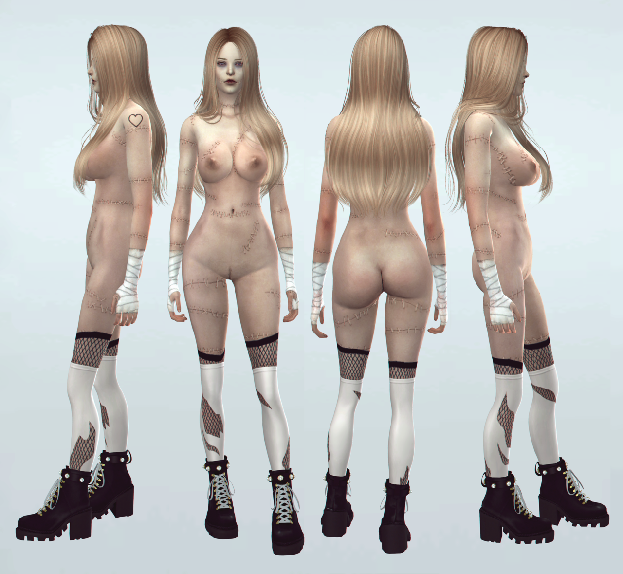 HQ legs version 5 by Magic Bot