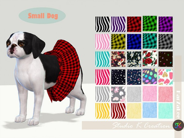 Small Dog dress N2acc by Studio K Creation