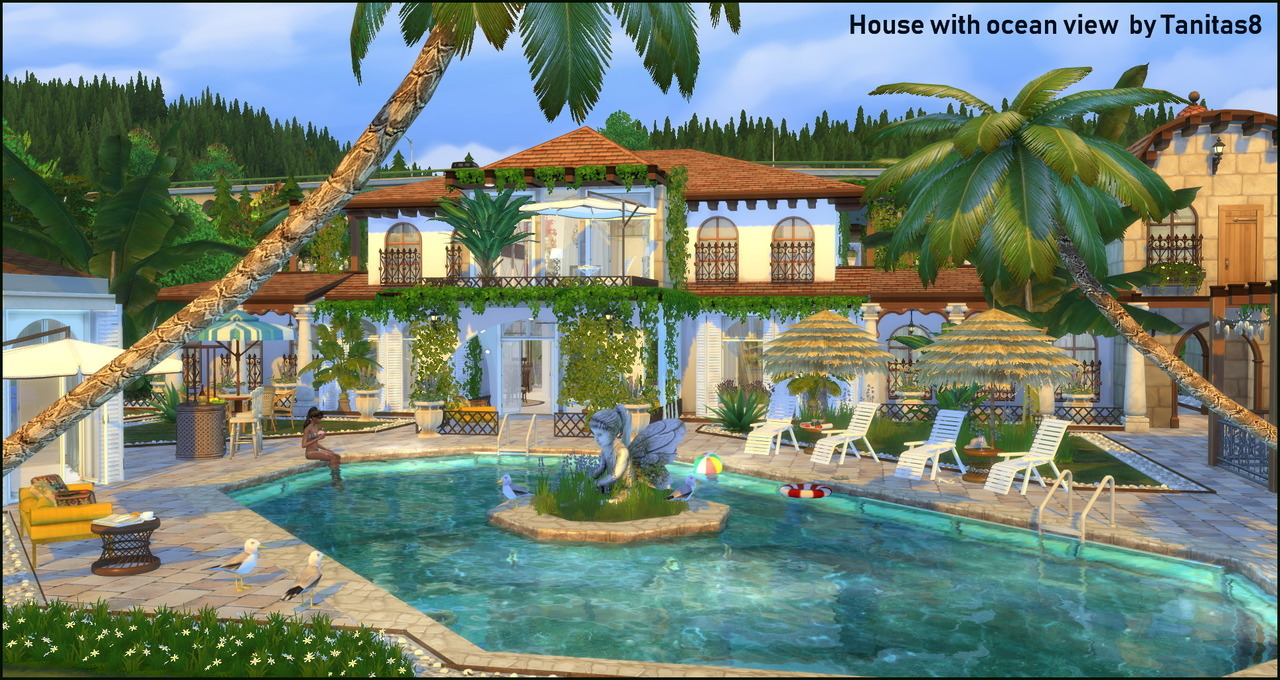 House with ocean view by Tanitas