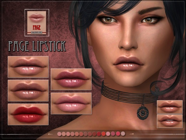 PAGE Lipstick by RemusSirion