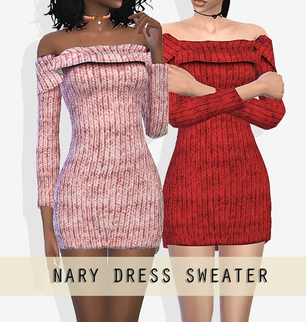 Nary Dress by Grafity-cc
