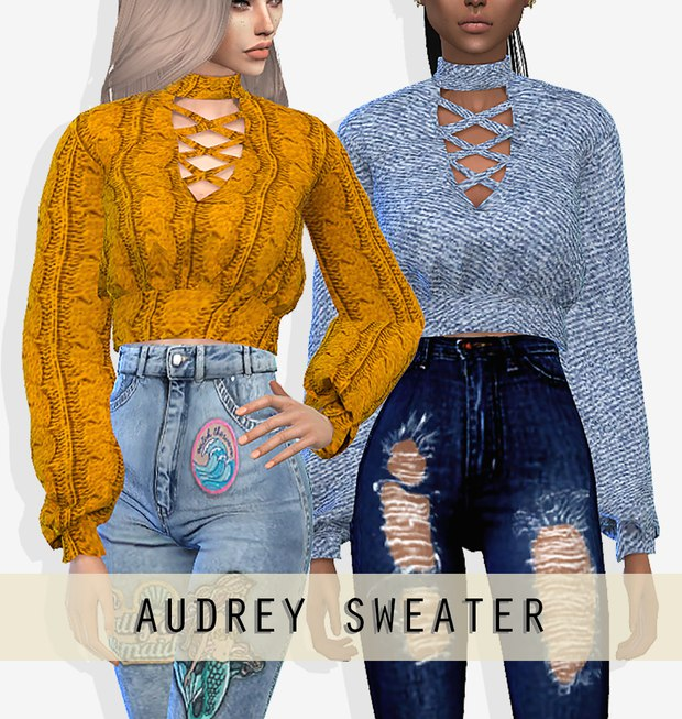 Audrey Sweater by Grafity-cc