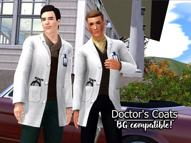 Doctors CoatsBase Game Compatible by spladoum