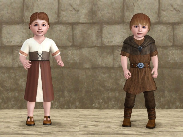 Medieval Toddler Outfits by Danjaley