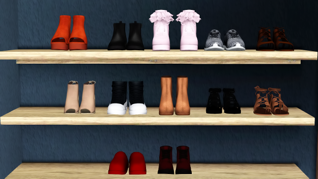 Chisami Shoe Objects by PixelatedThots