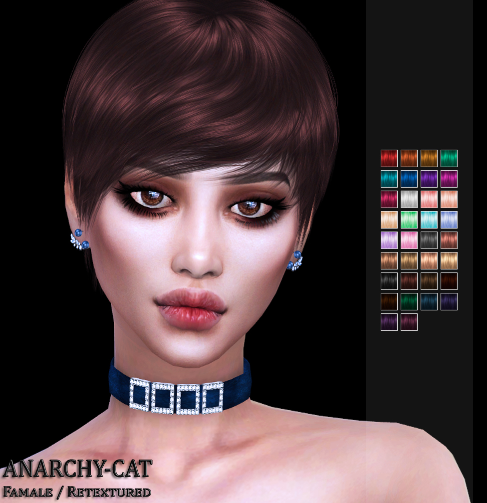 Simpliciaty Lannis Hair by Anarchy-Cat