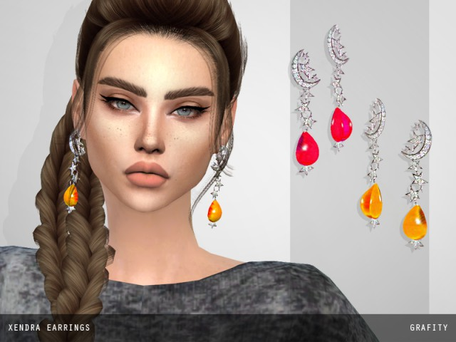 Xendra Earrings  by ArthurLumiereCC