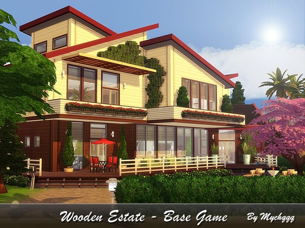 Wooden Estate - Base Game by MychQQQ