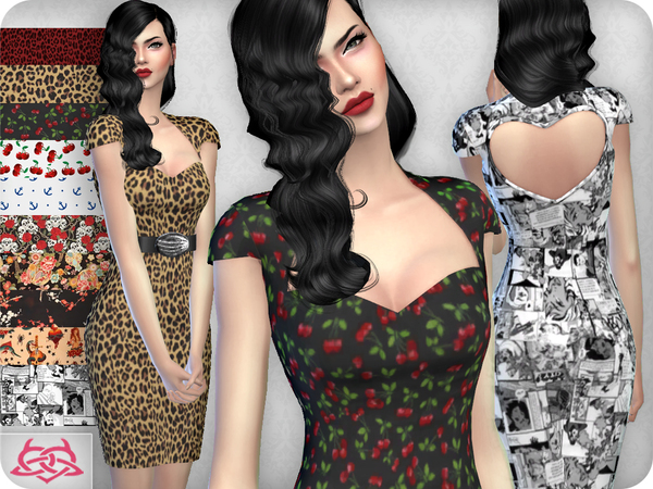 My love dress RECOLOR 3 (Needs mesh) by Colores Urbanos