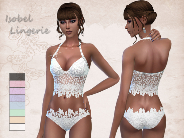 Isobel lingerie by _Simalicious_