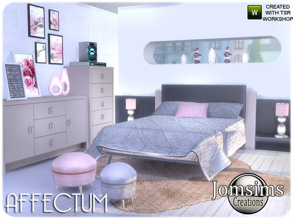 Affectum Bedroom by jomsims