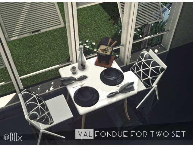 VAL Fondue For Two Set by DOX