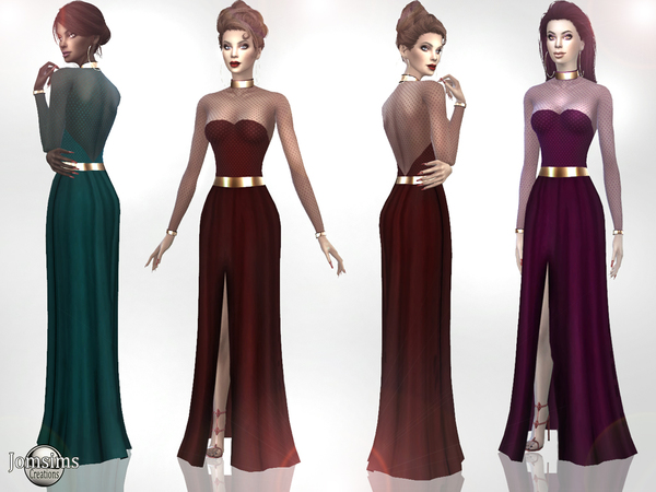 Xaness dress by jomsims