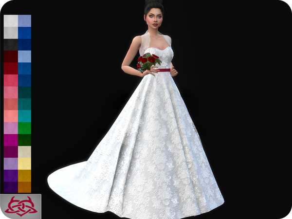 Wedding Dress 11 (original mesh) by Colores Urbanos