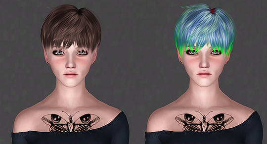 LeahLillith - Mia by IfcaSims